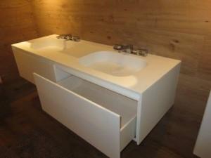 Badkamer meubel (LG Hi-Macs) - Creavorm - Meubelmaker en interieurs ...
